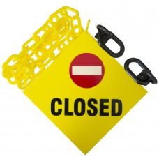 Mr. Chain Sign Kit - CLOSED