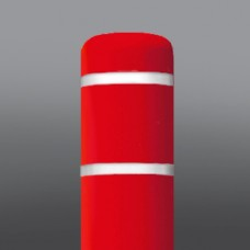 "10-3/4""x60"" Red/White Tape Dinged"